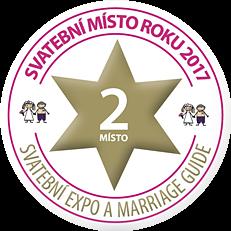Svatební místo roku 2017