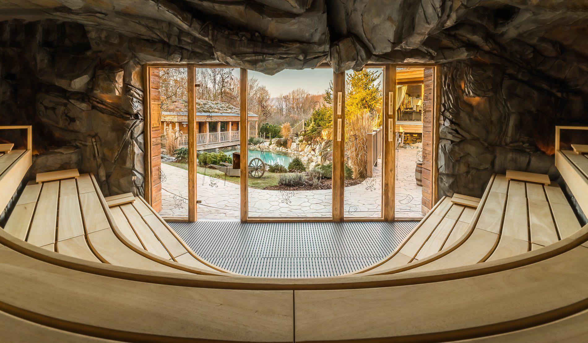 Jeskynní sauna den
