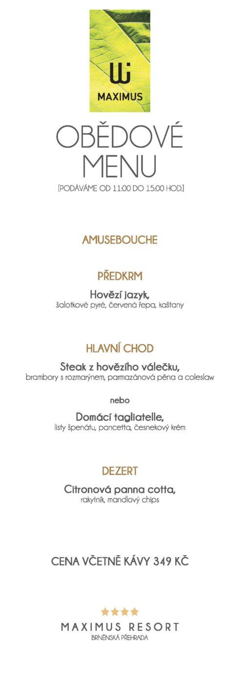 Obědové menu V