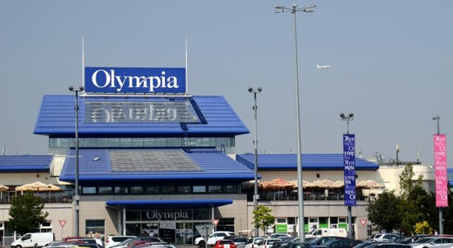 Nákupní azábavní centrum Olympie