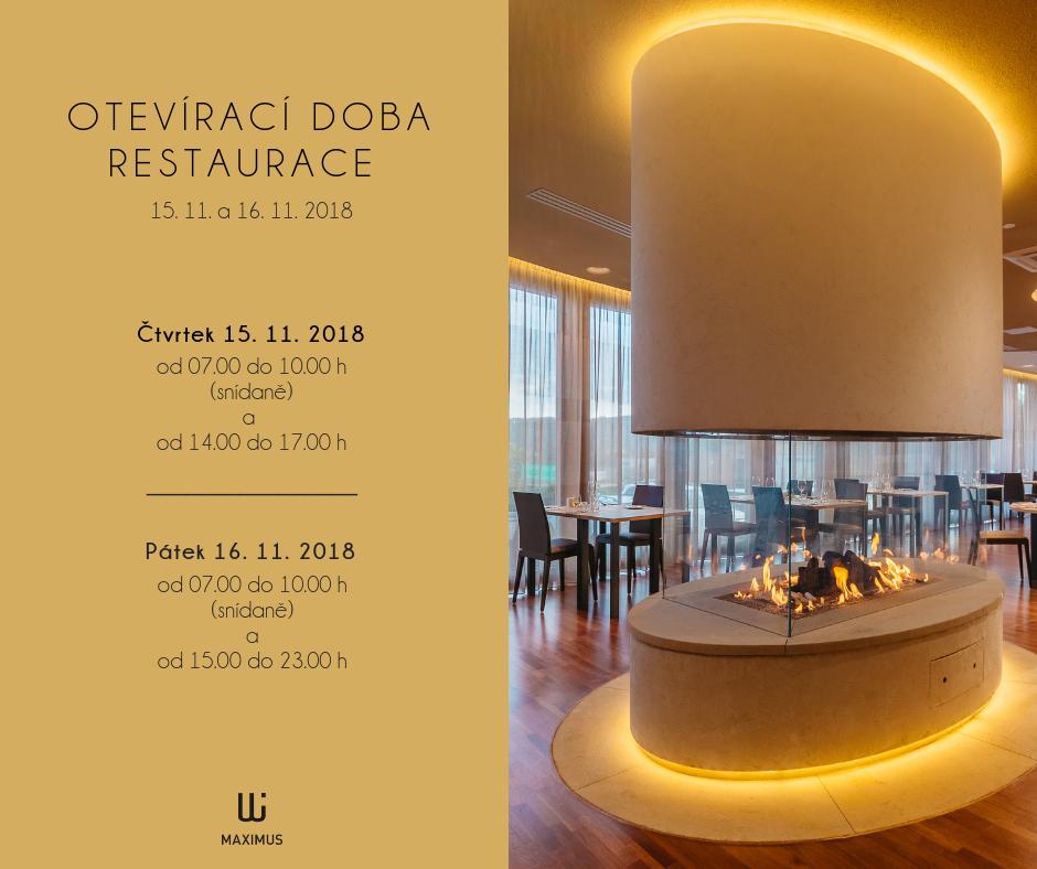 Otevírací doba restaurace (5)