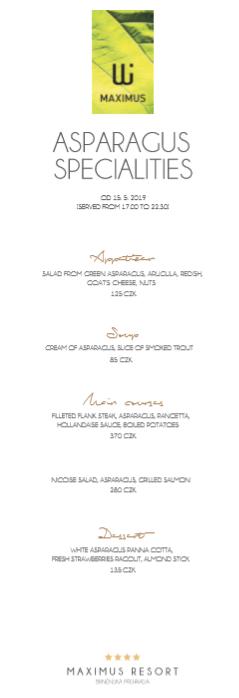 asparagus specialities