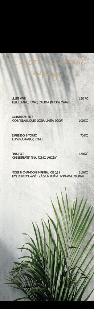 letní nápoje menu size