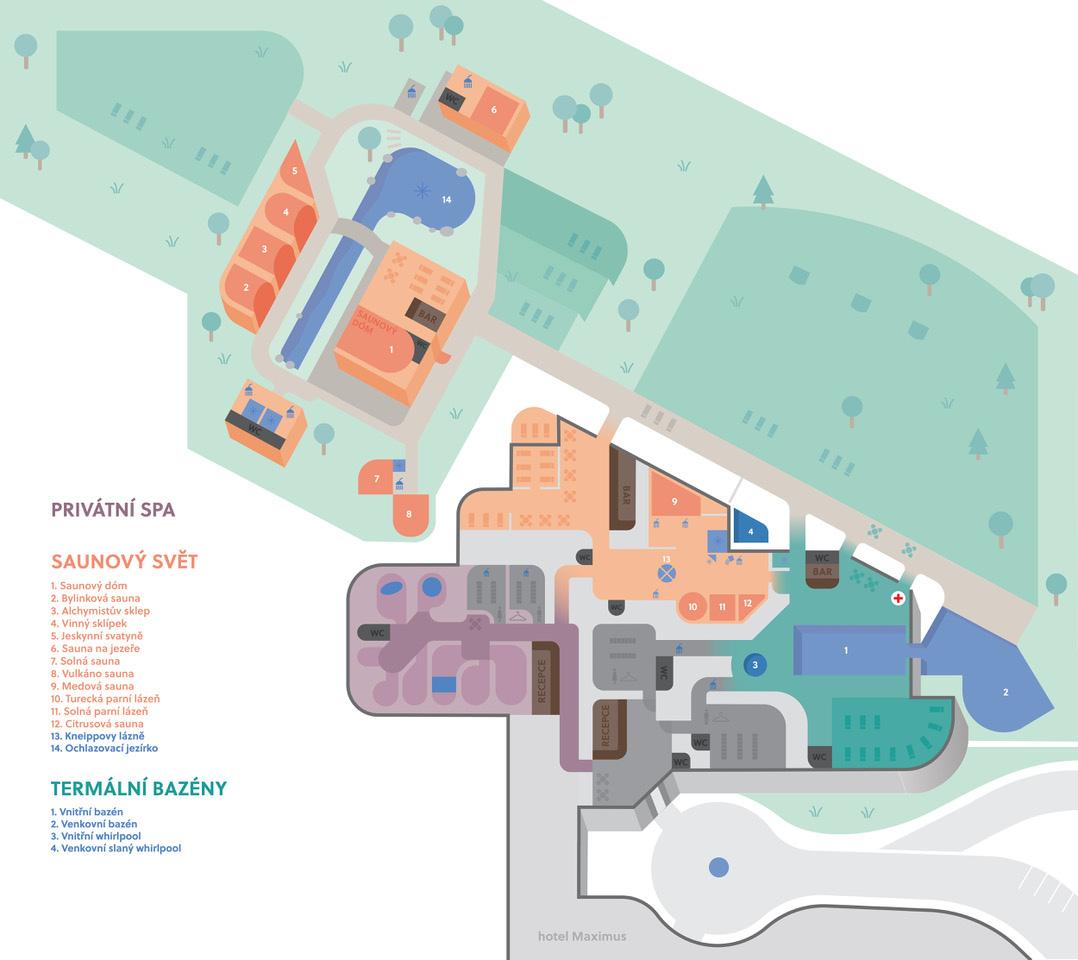 mapa cista